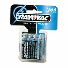 AAA Alkaline Battery, 8/Pack