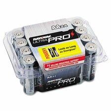 Ultra Pro AA Alkaline Battery, 24/Pack