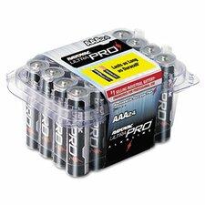 Ultra Pro AAA Alkaline Battery, 24/Pack