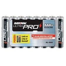 Rayovac - Maximum Alkaline Shrink Pack Batteries 00045 Aaa Industrialalkaline Ba: 620-Al-Aaa - 00045 aaa industrialalkaline ba