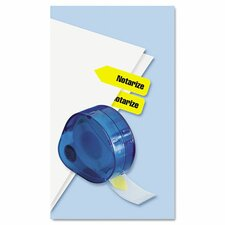 Arrow Notarize Page Flags Dispenser (Set of 2)