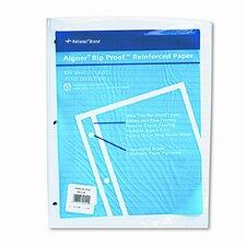 """Heavyweight Reinforced Bond Filler Paper, 11x8-1/2, 5/16"""" Ruled, 100 Shts/pk"""