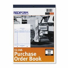Purchase Order Book, Bottom Punch, 50 Sets/Book