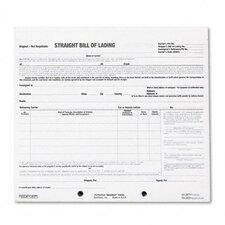 Bill of Lading Short Form, 250 Form Sets/Pack