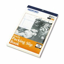 Packing Slip Book, 50 Sets/Book