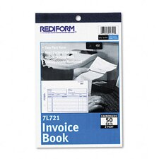 Invoice Book, 50 Sets/Book (Set of 2)