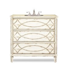 "Designer Series 37"" Single Ella Chest Bathroom Vanity Set"