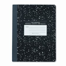 Marble Cover Composition Book, 9-3/4 X 7-1/2 (Set of 3)