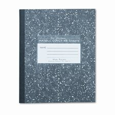 Marble Cover Composition Book, 8-1/2 X 7, 48 Pages (Set of 4)