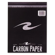 "Carbon Paper Tablet, 1-1/2""x11"", 10 per Pack,"