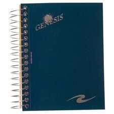 "Wirebound Notebook, Perforated, College Rld, 5-1/2""x4-1/4"", Assorted Cover"