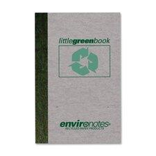 Little Green Memo Book (60 Sheet) (Set of 4)