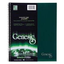 1 Subject Wirebound Notebook