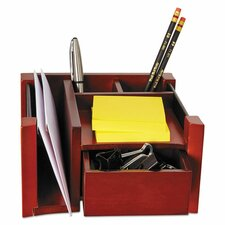 "Desk Director, Wood, 4.125"" H x 7.125"" W x 6.75"" D"