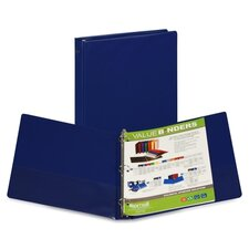 Suede Storage Binder