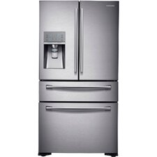 13.0 cu. ft. French Door Refrigerator in Stainless Steel with Sparkling Water Dispenser