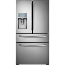 16.41 cu. ft. French Door Refrigerator in Stainless Steel with with Door-in-Door