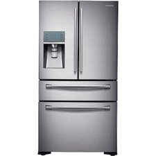 13 cu. ft. French Door Refrigerator in Stainless Steel with FlexZone™ Drawer