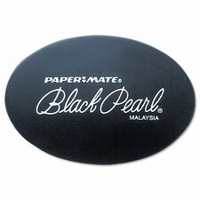 Black Pearl Eraser, Two Per Pack (Set of 3)