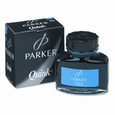 Super Quink Washable Ink for Parker Pens, 2-oz. Bottle, Blue