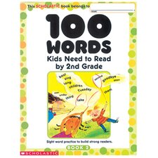 100 Words Kids Need To Read Book (Set of 2)