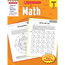 Scholastic Success with Math Gr 3 Book