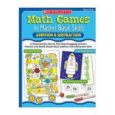Math Games to Master Basic Skills Book