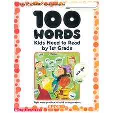 100 Words Kids Need to Read by 1st Book