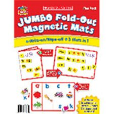 Jumbo Fold-Out Magnetic Mats Set of 5 Flash Cards