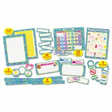 Super Funky 108-Piece Classroom Bulletin Board Cut Out