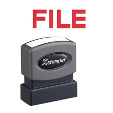 File Impression Stamp