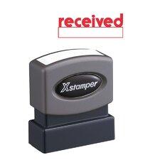 Received Impression Stamp