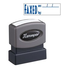 Title Faxed Impression Stamp