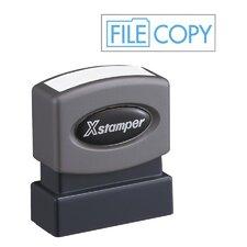 Title File Copy Impression Stamp