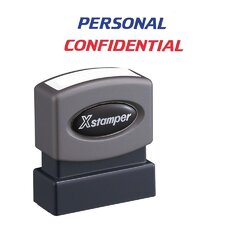 Personal/Confidential Impression Stamp