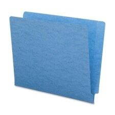 "End Tab Folder, Straight Tab Cut, Letter, 9-1/2""H, 100 per Box, Various Colors"