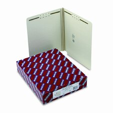 Two Fasteners End Tab Two Inch Expansion Folder, 25/Box
