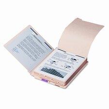 Stackable End Tab Folder Dividers with Fastener, Letter, 10 Sets/Pack
