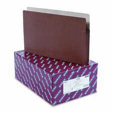 3.5 Inch Accordion Expansion Drop Front Pocket, 25/Box