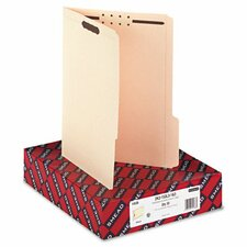 Two Fasteners 1/3 Cut Third Position Top Tab Folder, Letter, 50/Box
