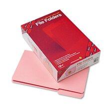 1/3 Cut File Folders, Reinforced Top Tab, Legal, 100/Box