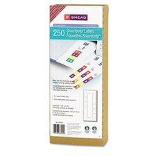 Smartstrip Refill Label Kit, 250 Label Forms/Pack, Laser