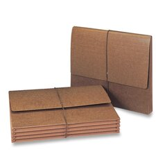 """Expanding Wallet, 11-3/4""""x9-1/2"""",5-1/4"""" Exp,10 per Box , Leather-Like"""