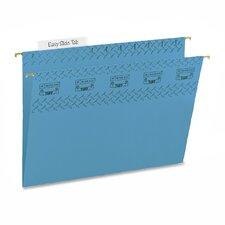 Tuff Hanging Folder w/Easy Slide Tab, Letter, Green, 18/Pack