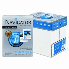 Navigator Platinum Paper, 99 Brightness, 2500/Carton
