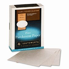 Parchment Specialty Paper, 24 Lbs., 500/Box