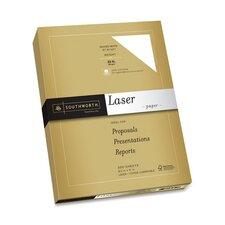"Premium Laser Paper, 32lb., 97 Bright, 8-1/2""x11"", Bright White"