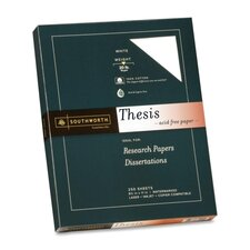 Exceptional Thesis Paper