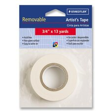 "Artist's Tape, Nonglare, Removable, 3/4""x13 yards, White"