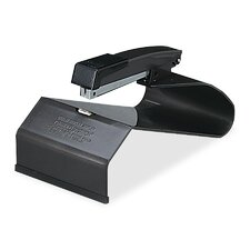 Manual Saddle Stapler, 20 Sheet Capacity, Black